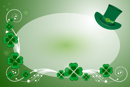 St patricks day background card Vector