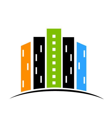 decline: Real estate modern buildings