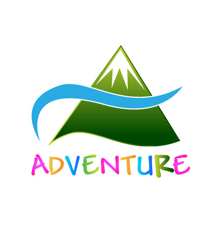Adventure green mountain