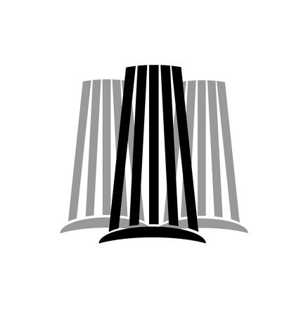 modern buildings: B�timents modernes vecteur d'image