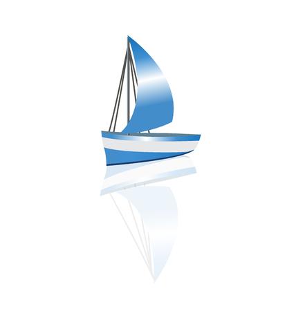 Boat waves beach image
