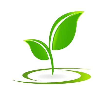 Gezondheid natuur alternatieve geneeskunde Stock Illustratie