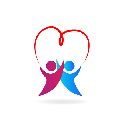 health and fitness: Valentines day symbol of love Illustration