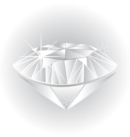 ダイヤモンドの図  イラスト・ベクター素材