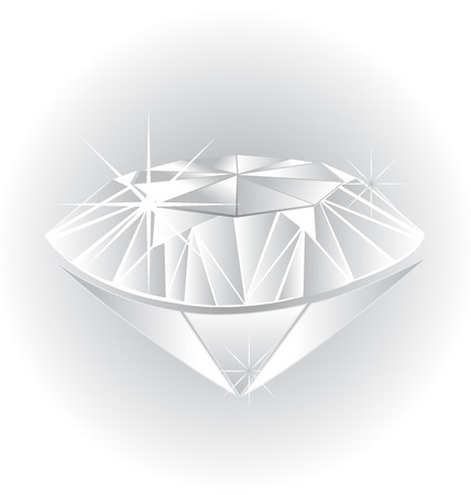 18k: Diamond illustration