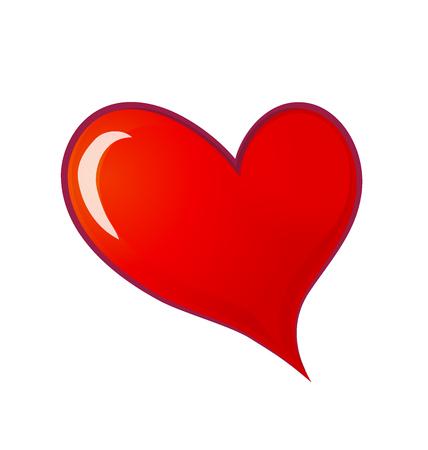 infatuation: Love heart symbol