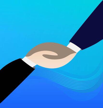 handshaking: Handshaking vector image