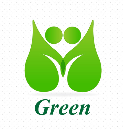 together voluntary: Ecology go green leafs