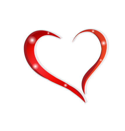free clip art: Love heart