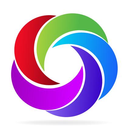 Swooshes icon vector image design