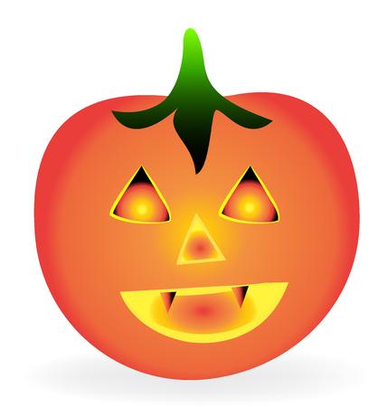 Halloween-K?rbis Vektorgrafik
