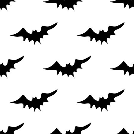 free vector art: Halloween bats pattern