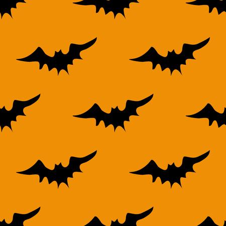 free fall: Halloween bats pattern
