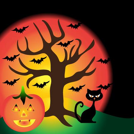 halloween background: Halloween background