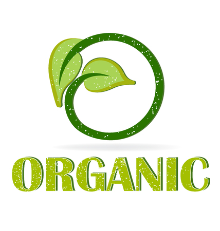 olimpic: Organic leafs for your web graphic design icon vector Illustration