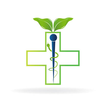 olimpic: Alternative medicine symbol abstract icon image template
