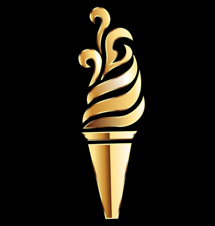 Torch golden flame