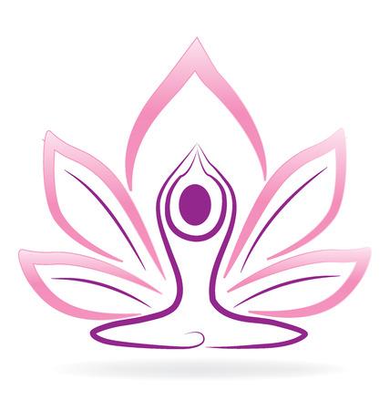 profusion: Lotus flower yoga