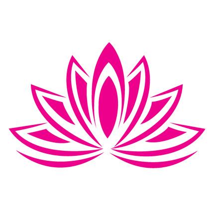 Lotus pink flower