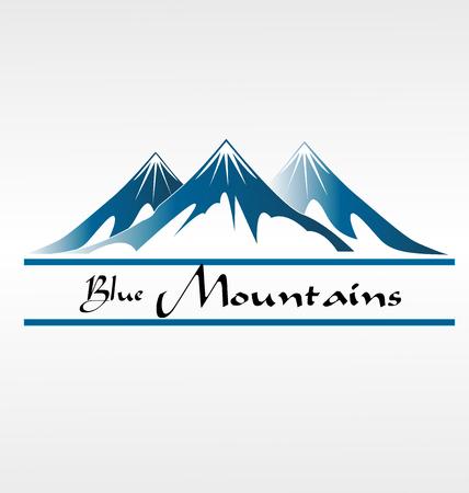 reflection mirror: Blue Mountains (mountain)