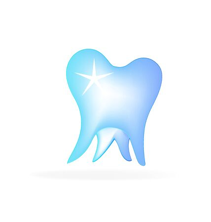 dentist icon: Tooth vector icon Illustration