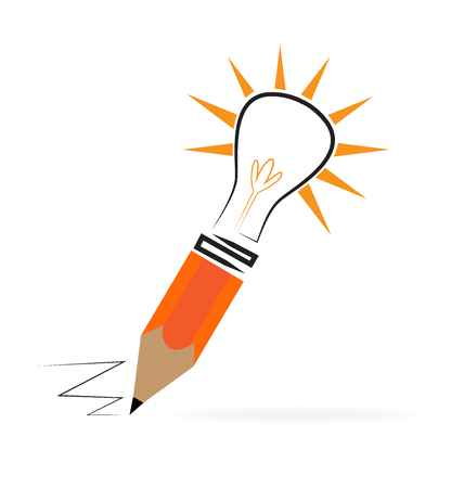 answer: Concept of creating ideas. Illustration