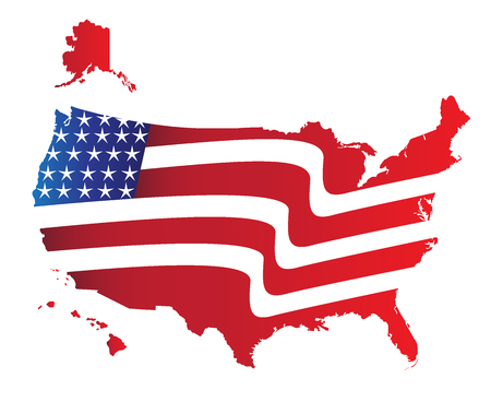 flag: US Flag Map