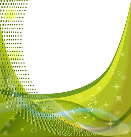 Abstract green template bokeh business shine background