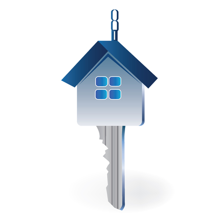 case: Key house symbol vector design