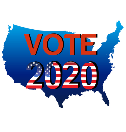 federal election: Vote 2020 USA Map