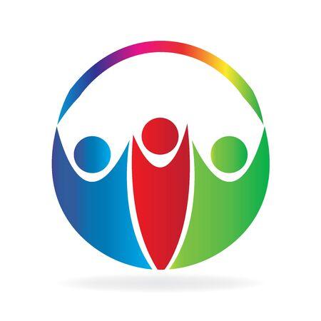 健康な人連合 cirlcle シンボル アイコン ロゴ ベクトル