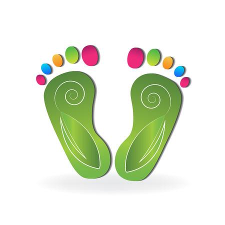 Podiatrie-Logo-Vektor
