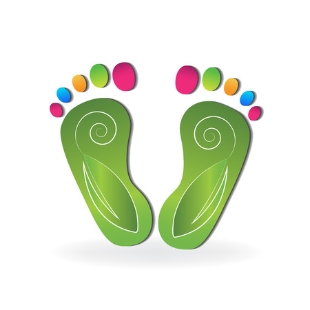 Podiatry logo vector