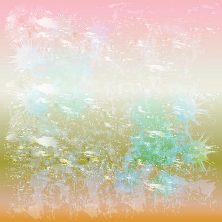 Abstract grunge splash pink background
