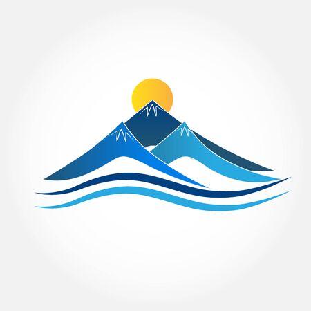 wilderness area: Mountains icon.