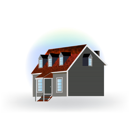 Country house isolated icon vector illustration design.