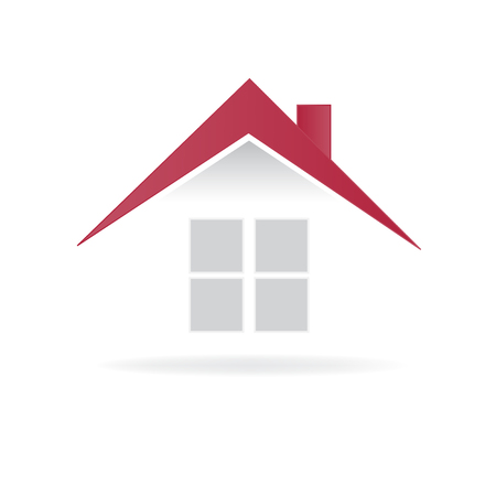 House real estate logo vector image template 向量圖像