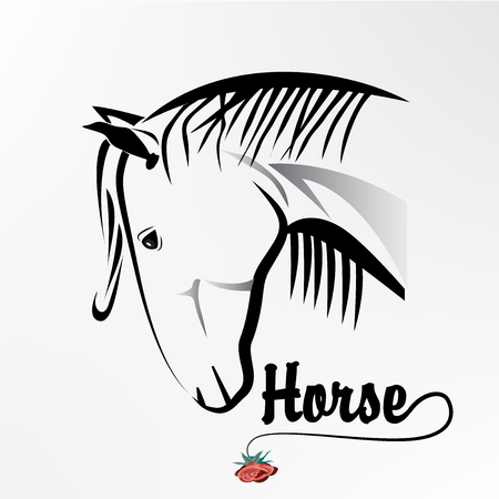 one animal: Head horse  icon