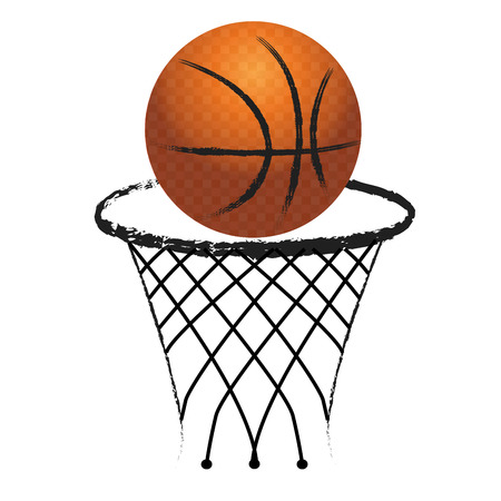 Basketball sport 向量圖像