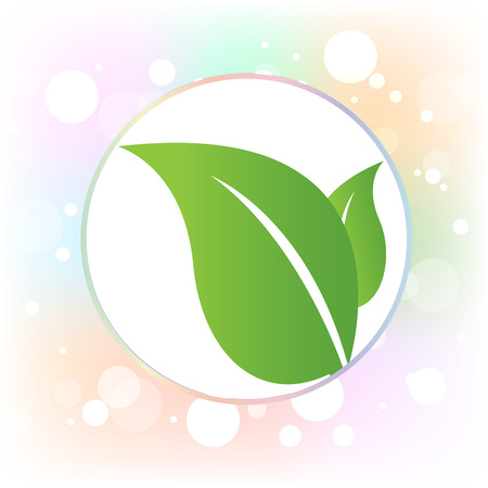 Leafs health nature symbol icon vector image background wallpaper logo