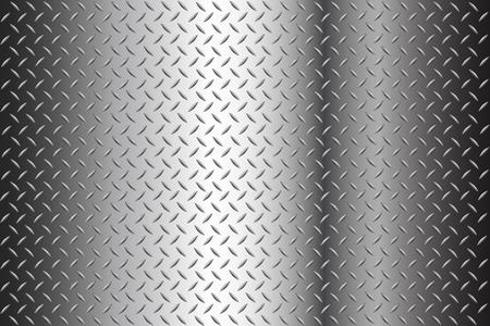 Nahtlose Diamond Plate Textur Stock Illustration Hintergrund mit Halbton