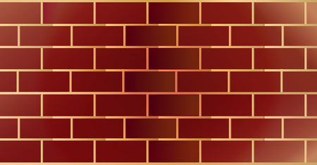 Weathered Stained Old Brick Wall Stock Vector - 113557276