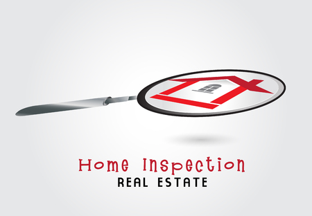 House inspection  symbol graphic design