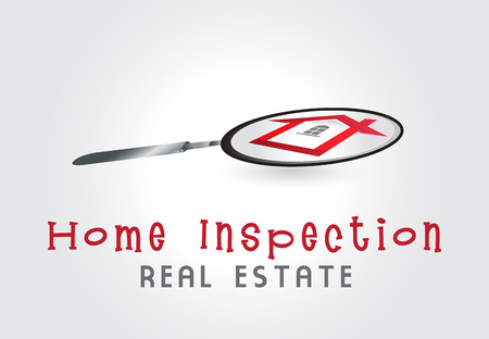 House inspection illustration symbol graphic vector design