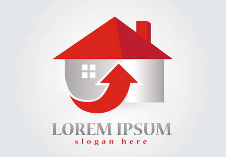 New House real estate icon image design