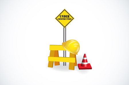 Under Construction icons vector image design