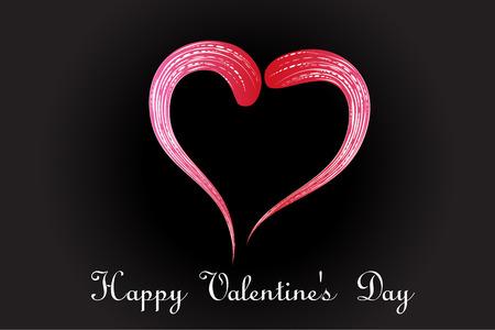 Love heart stylized