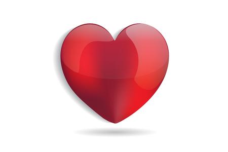 Heart love Ilustração