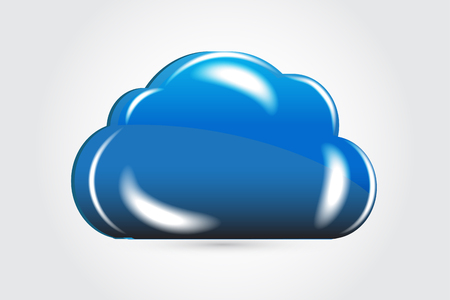 Cloud vector graphic design