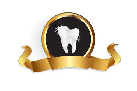 Dental care symbol vector image Standard-Bild - 116783916